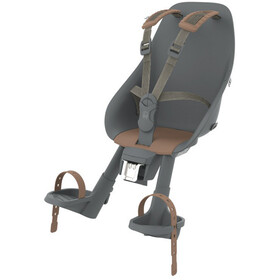 Urban Iki Child Seat Front head tube mounting bincho black/kurumi brown